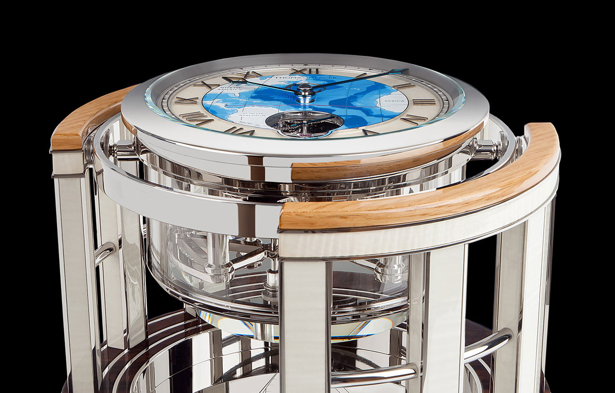 Super Yacht Times on chronometer marine from Thomas Mercer