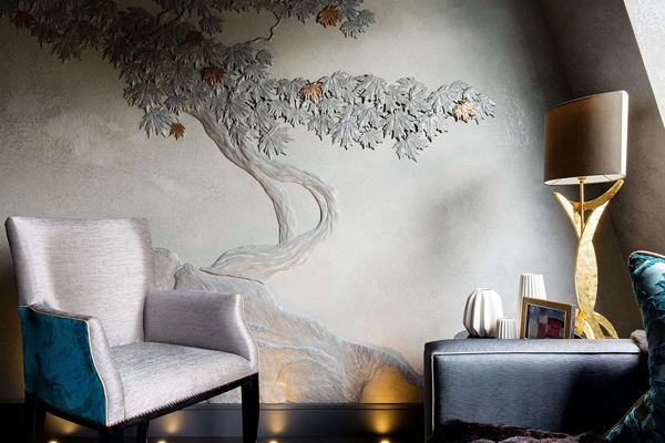 Artworks and bas relief, specialists, focusing on interior design in London