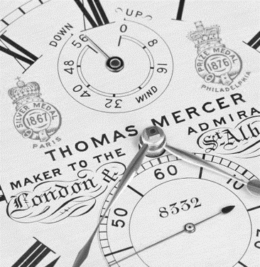 Thomas Mercer: marine chronometer maker to the Admiralty