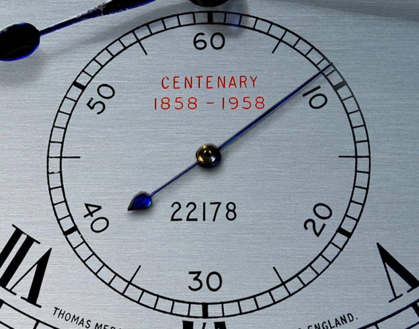 The centenary edition marine chronometer