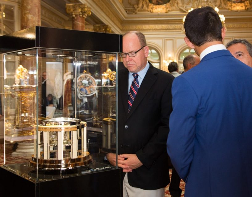 The Thomas Mercer Legacy marine chronometer presented to Prince Albert of Monaco