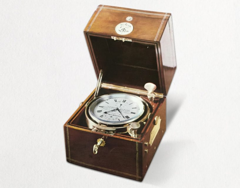 Marine Chronometer 2661, arrived second at 1881 Greenwich Trials