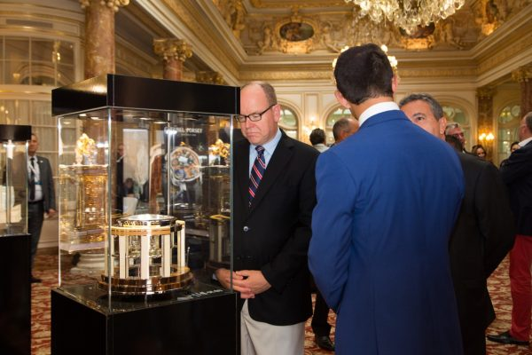 Thomas Mercer Legacy marine chronometer and HSH Prince Albert of Monaco