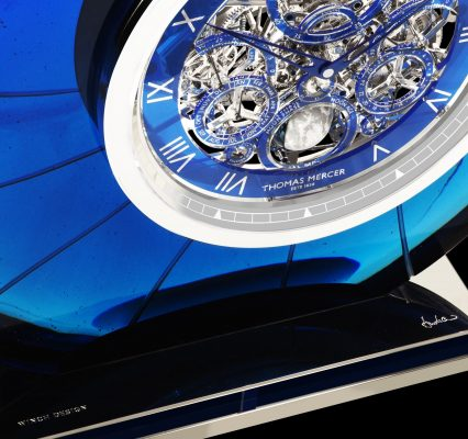 Nautilus, superyacht horological art piece perfect for art galleries