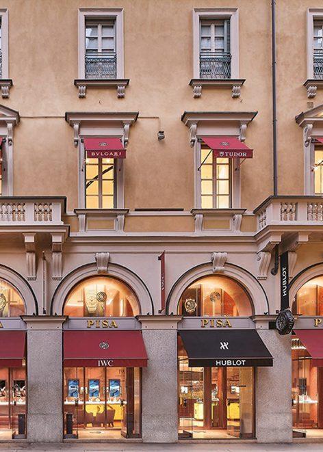 Pisa Orologeria, leading luxury watch brands retailer.