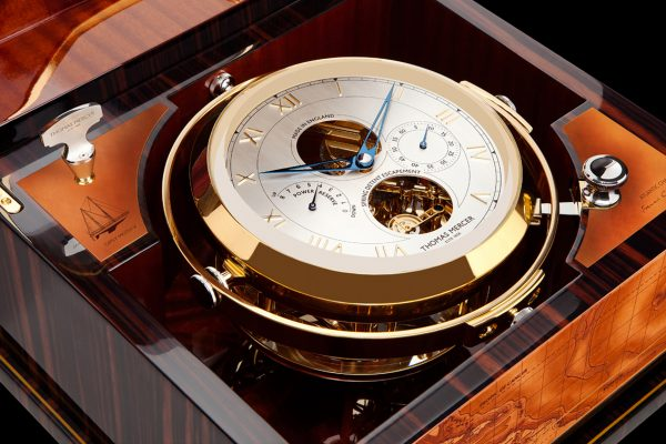 Francis Chichester hand made marine chronometers tell brand history.