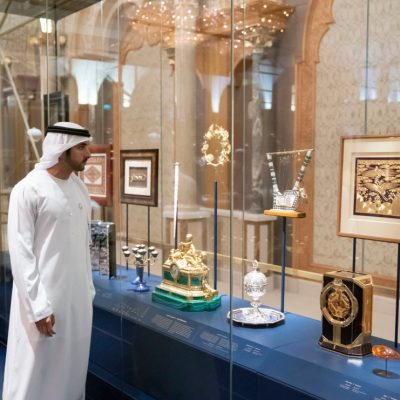 Abu Dhabi Time: A Brittanica Chronometer at the Presidential Palace.