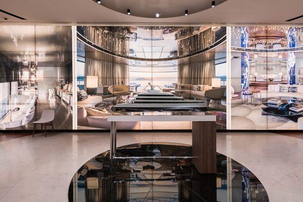 Savannah: superyacht with yacht interiors by Cristina Gherardi