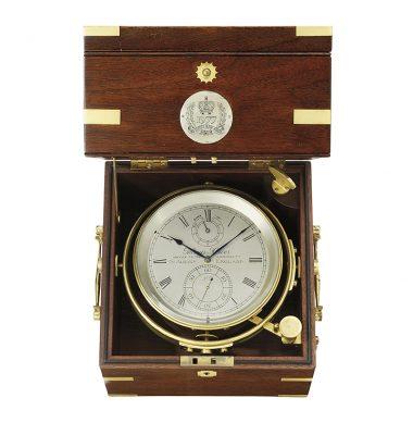Thomas Mercer marine chronometer for the jubilee of Queen Elizabeth 2.