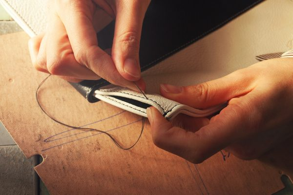 Britannica: hand made types of leather for lux deco time keepers