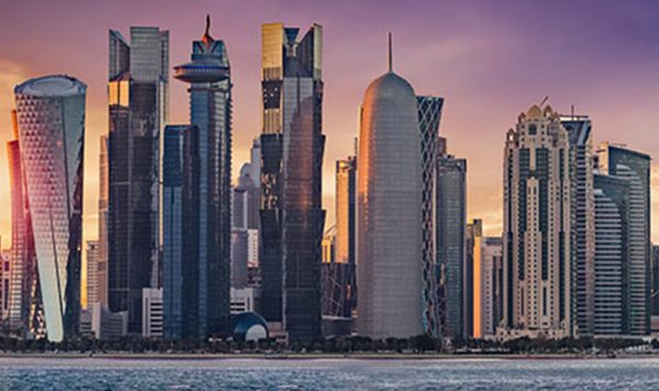 DJWE, Thomas Mercer and the Emir of Qatar, HH Sheikh Tamim Bin Hamad Al-Thani