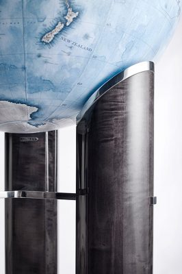 Exclusive Designs: Linley Furniture's Tellus Globe, with Bellerby.