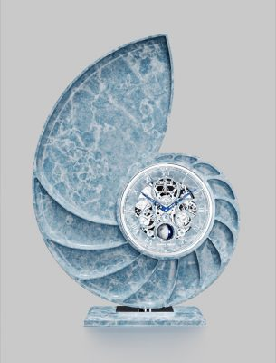 Nautilus - stone sculpture - exclusive design on Here Comes the Sun Yacht